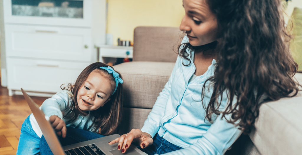working from home; working moms need to prioritize their health