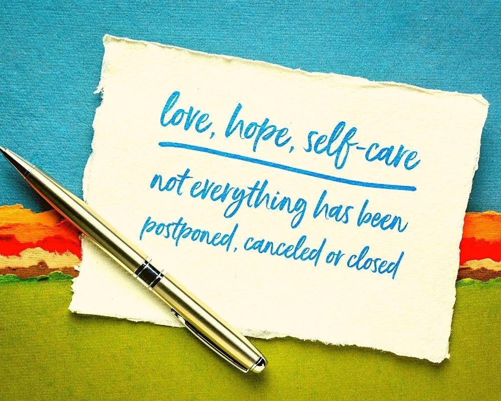self-care webinar with Beth Korinek
